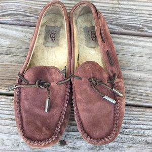 Purple Ugg Moccasins